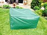 ALL WEATHER GREEN RATTAN 3 SEATER SOFA COVER 250x90x70cm