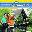 Quadrat-Spiralo BVA Gurken-Radweg im Spreewald Erlebnisradeln im Spreewald Radwanderkarte 1:50.000