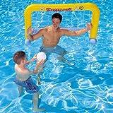 Wasserball Set 137 x 66cm Tor und 1 Ball aus