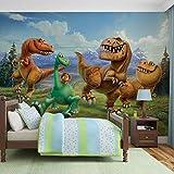 Disney Gut Dinosaurier - Wallsticker Warehouse - Fototapete - Tapete - Fotomural - Mural Wandbild - (3170WM) - XL - 208cm x 146cm - VLIES (EasyInstall) - 2 Pieces
