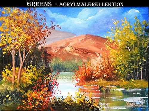 Greens - Acrylmalerei Lektion