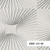 MUESTRA de papel pintado EDEM serie 115   para techos y paredes textura paneles, 115-XX:S-115-00