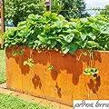 prima terra Hochbeet-Bausatz Edelrost OPTIMUS von prima terra bei Du und dein Garten