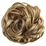 Gemini_mall® Haargummi-Haarteil für Haarknoten/Pferdeschwanz Haarverlängerungen