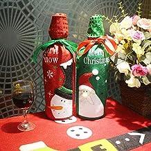 Shanke Juego de 2 Fundas para Botellas de Vino, suéter Feo para Vino de Papá