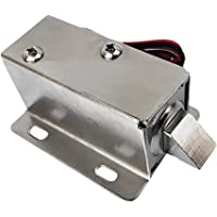DC12V Lock Tongue Luggage Electric Solenoid Assembly for Auto Door Sauna Cabinet Drawer