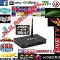 New Arrival Fully Loaded T8PRO Quad Core Android 5.1OS TV BOX Full HD 1080P 3D Movie Iptv Box Smart metal TV case Pre-install KODI G 8G AmlogicS812 Set-Top Box 2.4G 5G WiFi Bluetooth 4.0 Smart TV Receiver UK Plug 4K*2k 1080P 3G AV Dolby (PLUG n PLAY)