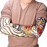 SHOP STORY - Lot de 6 Manches Manchettes de Faux Tatouages Élastiques Différents - Tattoo Sleeves