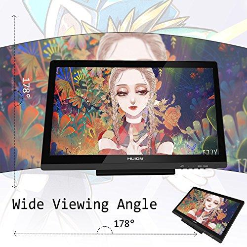 Monitor de Dibujo de Lápiz Digital HD 8192 Sensibilidad de Presión 19.5 Pulgadas Huion KAMVAS GT- 191