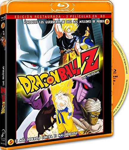 Pack Dragon Ball Z. El Más Poderoso Contra El Más Poderoso + ¡Choque! Los Guerrero De 10.000 Millones De Poder [Blu-ray]