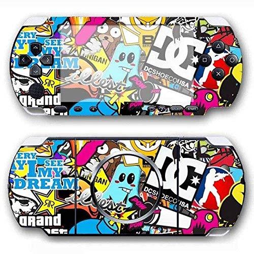 Skin Sticker - Bomb Vinyl Skin Sticker Protector for Sony PSP 3000 Skins Sticker for PSP3013 for PS4 Slim Skin, PS4 Pro Skin, PS4 Skin Sticker A780