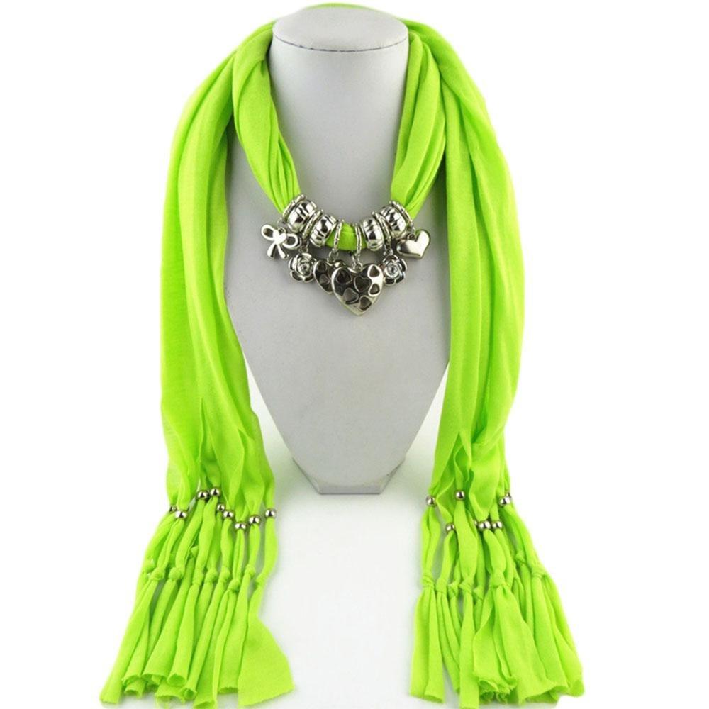 Yxzn collana da donna sciarpa accessori, 1