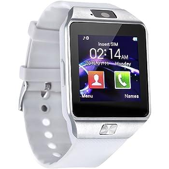 Reloj Inteligente dz09 Reloj Inteligente SIM TF Tarjeta de Apoyo teléfono con cámara para Andriod Smartphone