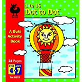Buki Dot to Dot 1 to 15 - Penguin by Buki