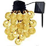Caratteristiche:-LED LIGHT can keep glowing For about 8ore a night after Fully Charged during the day.--Solar Powered decorative string Lights, with no extra electricity consumption incurred.-Best Choice For Garden, Homes, wedding, Christmas p...