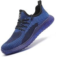 Firtsag Chaussures de Securité Homme Femme Legere Baskets de Sécurité Antidérapante Respirante Embout Acier Chaussures…