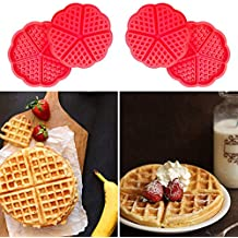 Top Quality Silicone Waffle Muffin Cake Mold Mould Chocolate Bakeware Kitchen Baking Tool