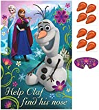 Disney Frozen Olaf Pin Nose Party Game