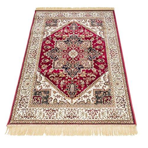 WEBTAPPETI Klassischer Teppich Orient Teppich Heriz RUBINE 304-rosso Cm.250x350 rot