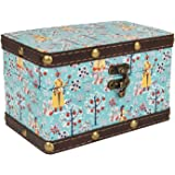 Chumbak Garden Gala Storage Box - Teal