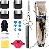 Innoo Tech Professional Hair Clippers for Men Kids, Hair Trimmer Kits Set Cordless USB Rechargeable Five Speed Adjustment Ele