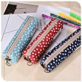 Wicemoon Small Flowers Pencile Case Pen Bag Coin Bag Storage Bag Student Stationery Multifunctional Makeup Bag