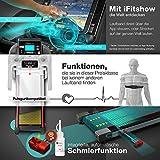 Sportstech TESTSIEGER F37 Profi Laufband 7PS bis 20 km/h, Selbstschmiersystem, Smartphone Fitness App, 15% Steigung, Bluetooth MP3, Große Lauffläche mit 8 Zonen Dämpfungssystem bis 150 Kg - klappbar - 4
