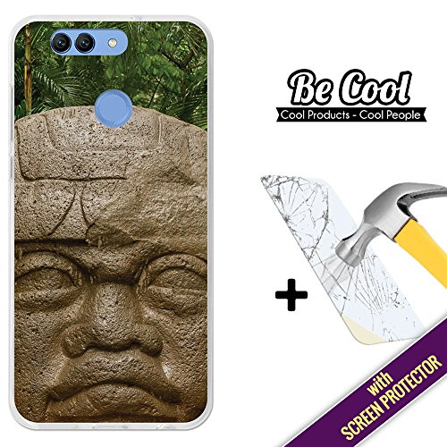 Becool® - Funda Gel Flexible para Huawei Nova 2 Plus, [ +1 Protector Cristal Vidrio Templado ], Carcasa TPU fabricada con la mejor Silicona, protege y se adapta a la perfección a tu Smartphone y con nuestro exclusivo diseño. Tolteca.