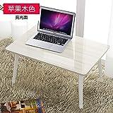 JINSHENG - Computer, Schreibtisch, Kleine rezeption, Laptop klapptisch, Student Bett Lernen Tabelle,Obst Pink,60 * * 28.