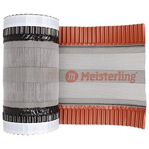 Meisterling Closoir de faîtage et arêtier 320mm, cloisoir, faîtage, ventilation, arêtier, rouge