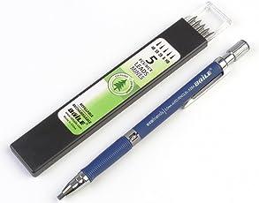 ABAJ Baile 2.0mm Mechanical Auto Pencil + Lead Box (5 Leads) - Body Color Blue