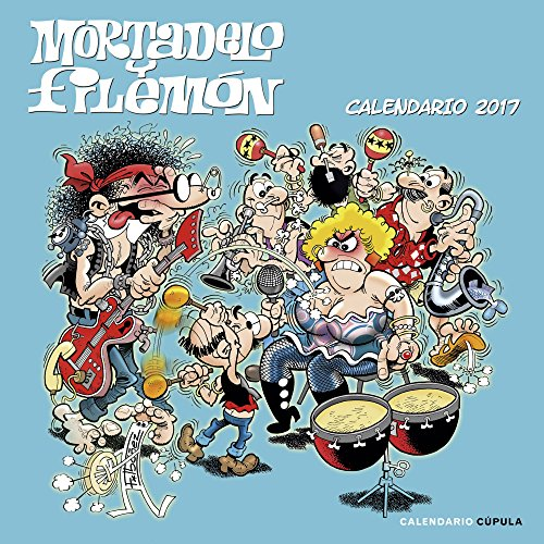 Calendario Mortadelo Y Filemón 2017 (Calendarios y agendas)