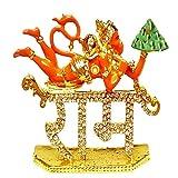 Aastha Lord Hanuman Idol Metal for Car D...