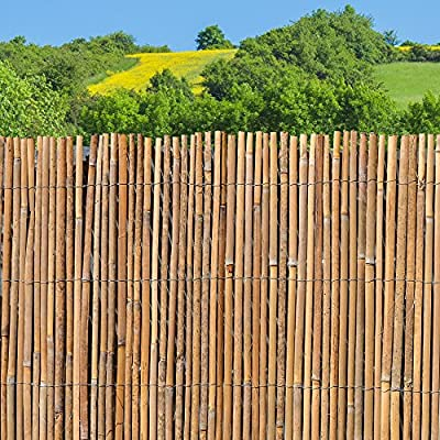 Bambusmatte - Sichtschutzzaun, Gartenzaun, Natur, Bambus, Zaun, Sichtschutz, Windschutz von 512469 bei Du und dein Garten