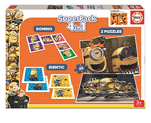 Despicable Me 3 - Superpack (Educa Borrás 17364)