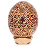 Rososh Ostrich Size Real Blown Easter Egg Pysanky