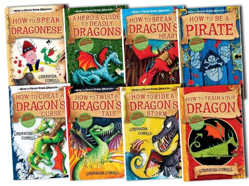 How to Train Your Dragon Pack, 8 books, RRP 41.93 (Hero's Guide Deadly Drago...