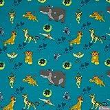 Jersey Stoff Disney Jersey Der König der Löwen Löwe