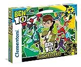 Clementoni - Ben 10 Puzzle Fluorescente, 104 Pezzi, 27089