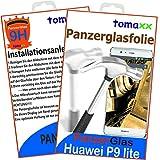 Huawei P9 Lite Glas Glasfolie Panzerglas Panzerglasfolie Schutzfolie