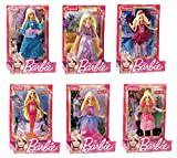 Mattel V7050 - Barbie mini principessa, modelli assortiti, 1 pz.