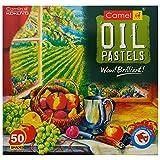 Camlin Oil Pastel (50 Shades)
