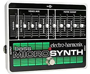 Electro Harmonix Micro Bass Synthesizer Pédale pour Guitare électrique Argent