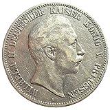 Silber Münze 5 Mark 1900 A Preußen Wilhelm II - Prachtexemplar - Kaiserreich