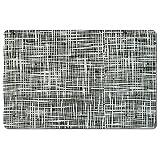 Zeller 26945 Platzset Abstrakt, 43,5 x 28,5 cm, schwarz