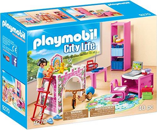 Playmobil 9270 - cameretta ragazze, rosa