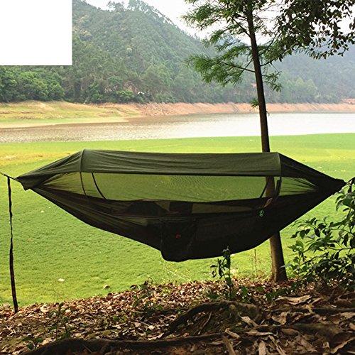 DIAOHXY Outdoor Doppelt Hängematten mit moskitonetz,Portable Hängematte für 2 Personen Sonnenblende Schaukel-B 250*120cm