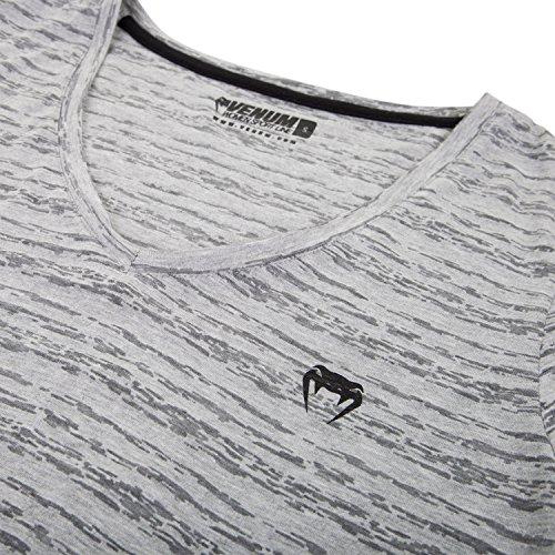 Venum Damen V Ansatz T- Shirt V Ansatz Essential Grau