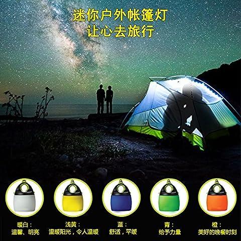 Lanlan Camping Light LED können Zelt Licht Außen Mini USB Powered, weiß