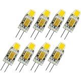 8 stuks superheldere G4 led 12 V lamp AC / DC 12 V cob led lamp licht 2 watt vervangen halogeenlamp 360  stralingshoek k